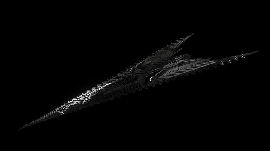 Nawa Ship 3D Model